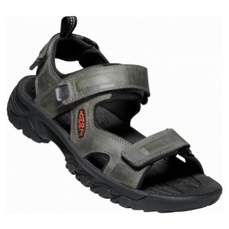 Pánské sandály Keen Targhee III Open Toe Sandal M grey/black