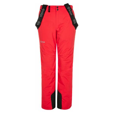 KILPI Dámské lyžařské kalhoty ELARE-W NL0046KIRED Červená