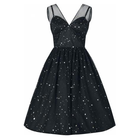 Hell Bunny Šaty ve stylu 50.let Infinity šaty černá
