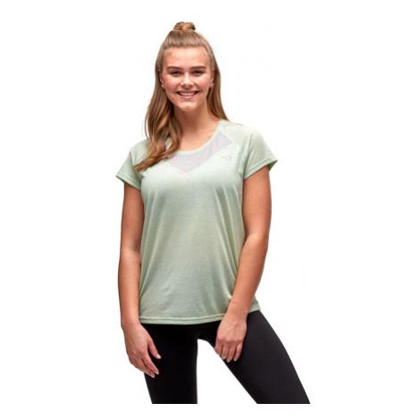 Dámské tričko Kari Traa Maria Tee zelené,