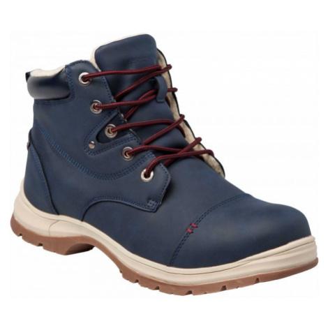 Numero Uno MARTEN M modrá 44 - Pánská zimní obuv - zateplená