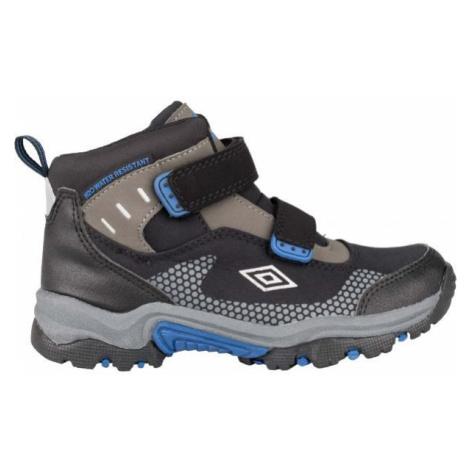 Umbro JON modrá - Dětská treková obuv