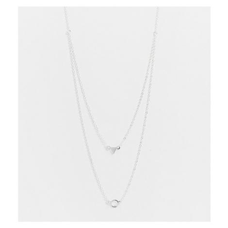 Kingsley Ryan multi row necklace in sterling silver