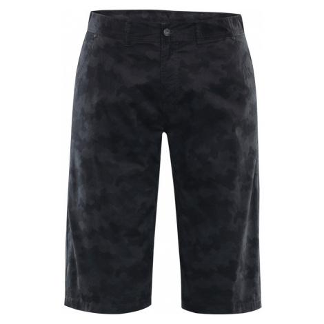 ALPINE PRO AKLIM 2 Pánské šortky MPAL250779PB tmavě šedá