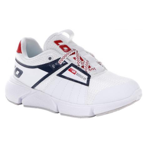 Lotto BREEZE LOGO CL L bílá - Dětská volnočasová obuv