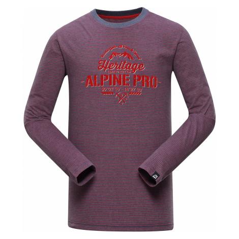 Pánské triko Alpine Pro PERKOS 2 - fialová