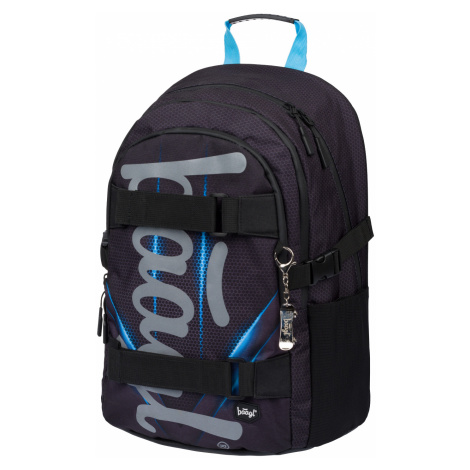 BAAGL Školní batoh Skate Bluelight