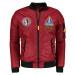 Ombre Clothing Men's mid-season bomber jacket C351
