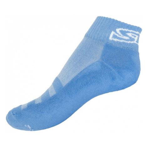 Ponožky Styx fit modré s bílým nápisem (H276)