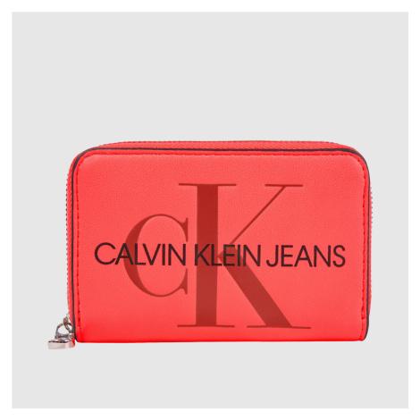 Calvin Klein dámská neonová mini peněženka
