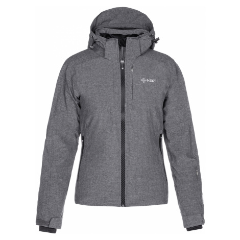 KILPI Dámská lyžařská bunda MAANIA-W LL0032KIDGY Tmavě šedá
