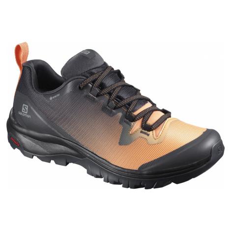 Treková obuv Salomon Vaya GTX W - černá/oranžová