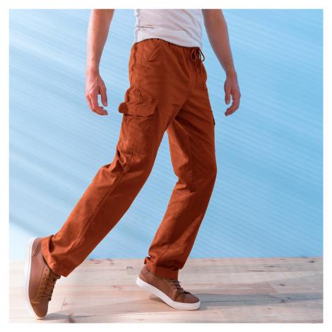 Blancheporte Kalhoty pro volný čas cihlová
