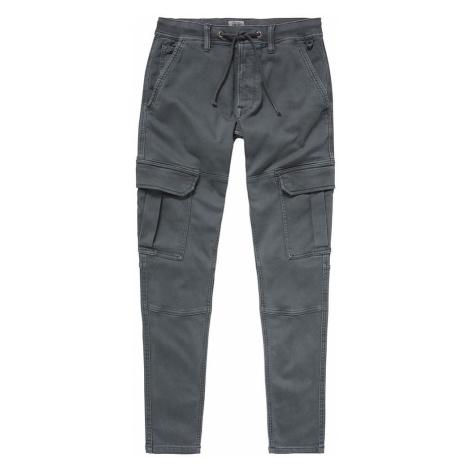 Pepe Jeans Pepe Jeans pánské šedé kapsové kalhoty JONES