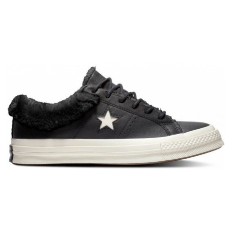 Converse ONE STAR STREET WARMER černá - Dámské nízké tenisky