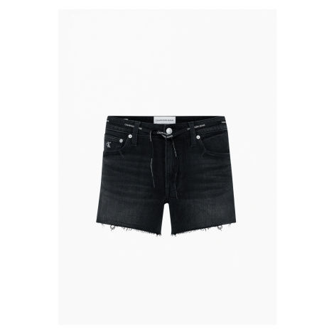 Calvin Klein Calvin Klein dámské černé džínové kraťasy MID RISE SHORT