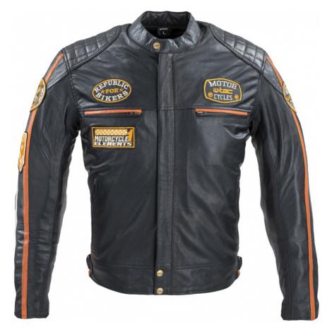 Pánská Kožená Moto Bunda W-Tec Sheawen Classic Černá