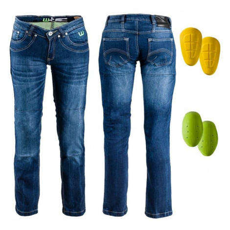 Dámské moto jeansy W-TEC B-2012 Barva modrá