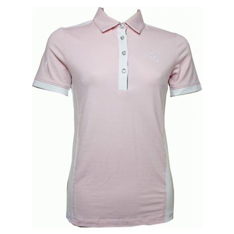 Tričko polo Mara Springstar, dámské, rose/white