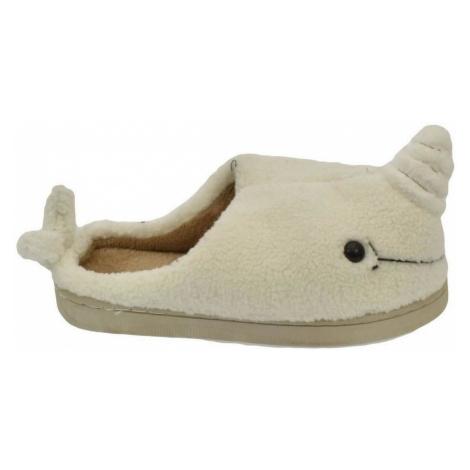 Seastar Dámske biele papuče TINKA Bílá