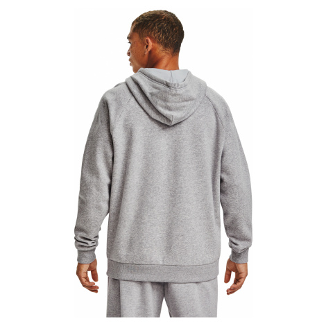 Under Armour Rival Fleece Big Logo Hoodie Gray/ Black