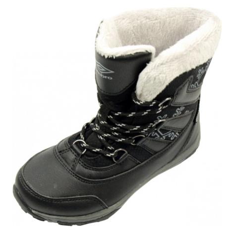 Umbro ALIISA černá - Dětská zimní obuv
