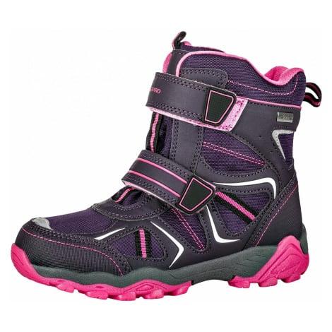 Dětská zimní obuv Alpine Pro HAYLEY - tmavě fialová
