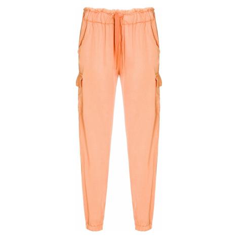 Kalhoty Deha EASY oranžová