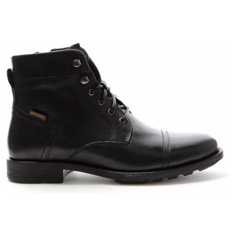 Kožené kotníkové boty Levi´s® Reddinger pánské černé