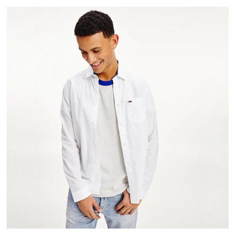 Tommy Jeans pánská bílá košile