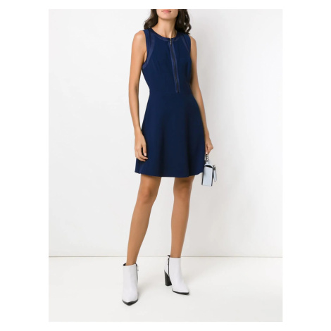 Armani Armani Exchange dámské tmavě modré šaty
