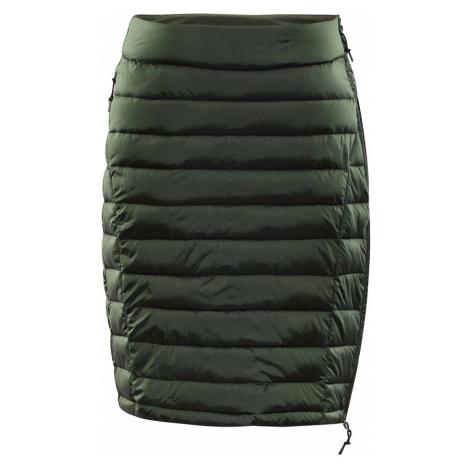 ALPINE PRO BENA Dámská zimní sukně LSKP183505 rifle green