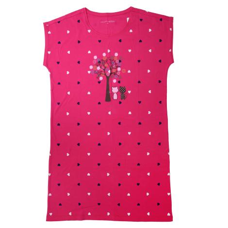 Dámská noční košile - Wolf D2132, růžová