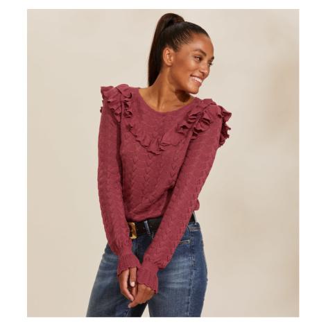 Svetr Odd Molly Fairy Fantasy Sweater - Růžová