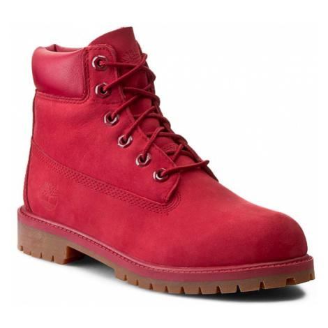 Turistická obuv TIMBERLAND - 6 In Premium Wp Boot A13HV/TB0A13HV6261 Red