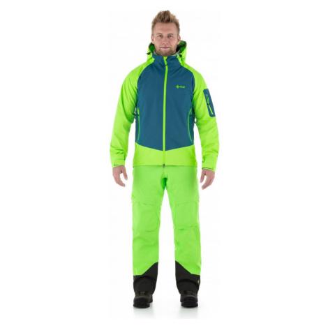 Pánská třívrstvá bunda KILPI LEXAY-M zelená