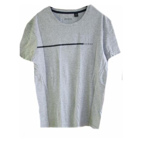 Pánské triko GUESS U92G10 šedé | šedá