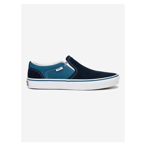 Asher Slip On Vans Modrá