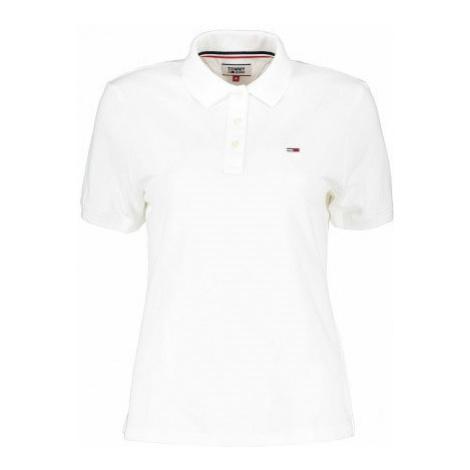 Tommy Hilfiger Tommy Hilfiger dámské bílé polo tričko
