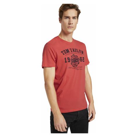Tom Tailor pánské triko s logem 1008637/11042