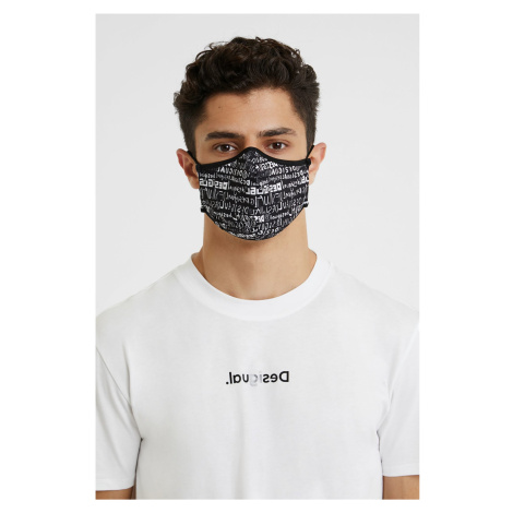 Desigual černá rouška Mask Desigual