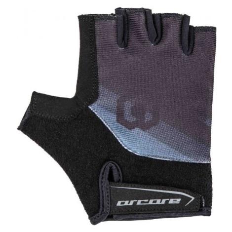 Arcore RACER černá - Krátkoprsté cyklistické rukavice