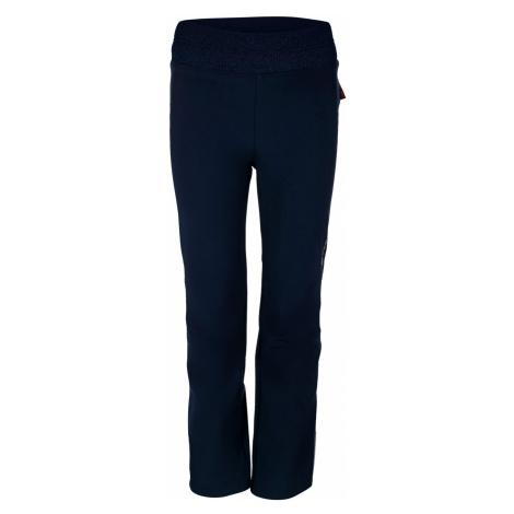 ALPINE PRO OCIO INS. Dětské softshellové kalhoty KPAP072602 mood indigo