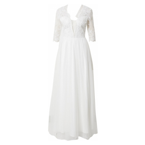 Chi Chi London Šaty 'Bridal Ruby' bílá