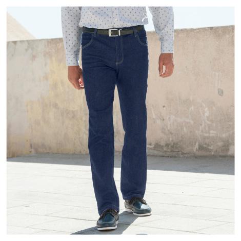 Blancheporte Pohodlné džíny, vyšší postava tmavě modrá