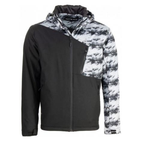 ALPINE PRO JOLAN černá - Pánská lyžařská bunda