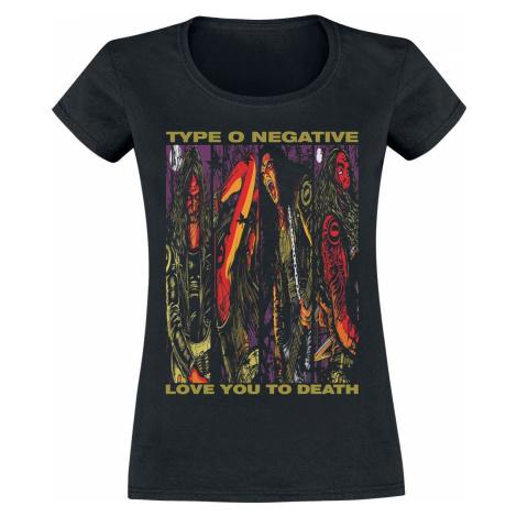 Type O Negative Love You To Death Dámské tričko černá