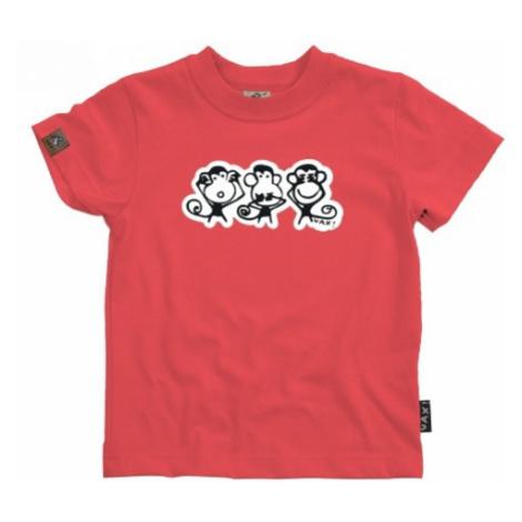 Dětské tričko Uax Skratchild NNN Zlo red