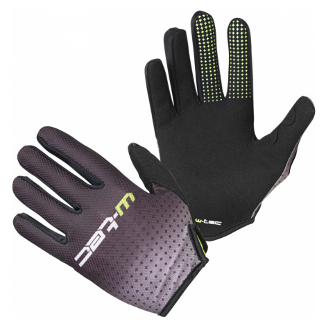 Motokrosové rukavice W-TEC Montmelo černo-zelená
