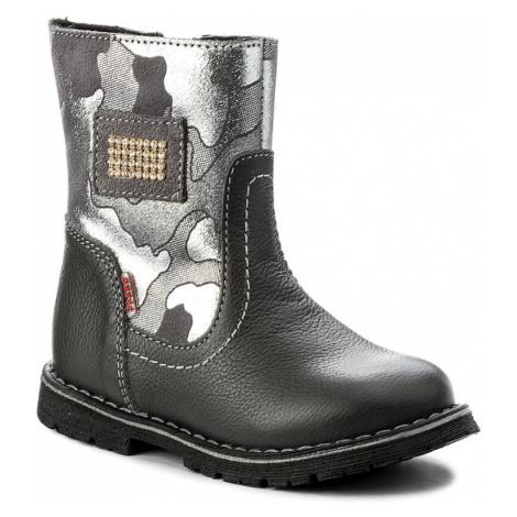 Kozačky ZARRO - 123/15 M Czarny Zarro obuv